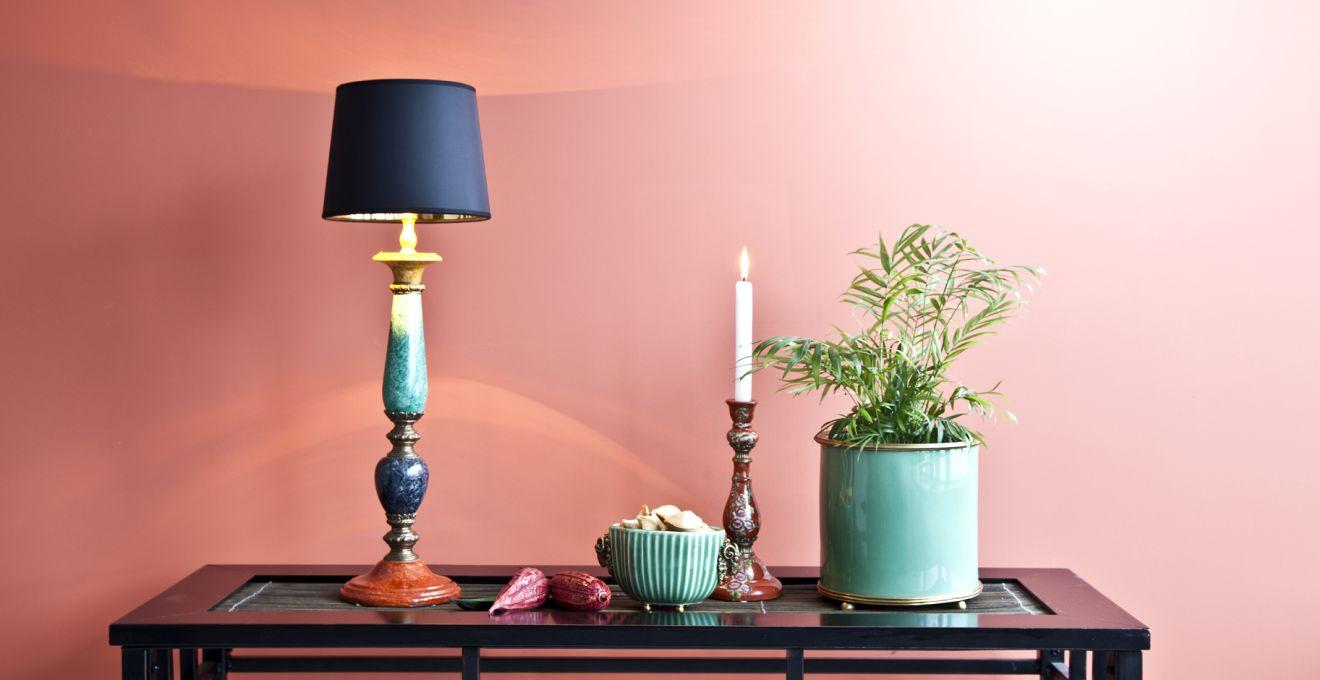Groene lamp