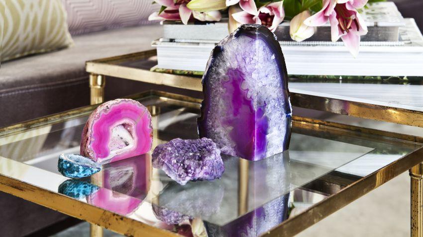 een fris kleuraccent met paarse woonaccessoires | westwing, Deco ideeën