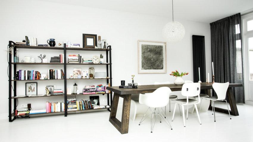 Creëer pit in je interieur met zwarte gordijnen | Westwing