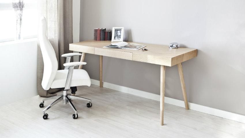 Witte bureaustoel comfy modern en mét korting westwing