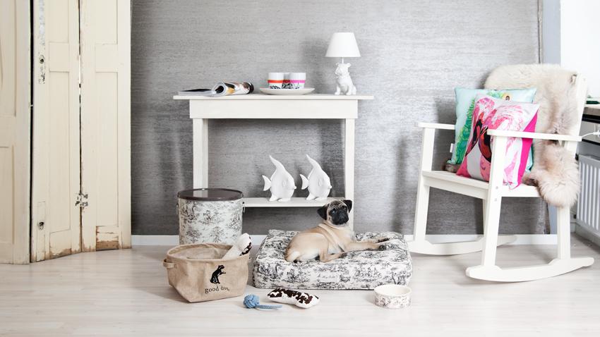 Shop je trendy witte schommelstoel m t korting westwing - Muebles pintados en plata ...