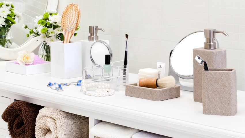Vergeet de tijd niet met een badkamer klok | Westwing