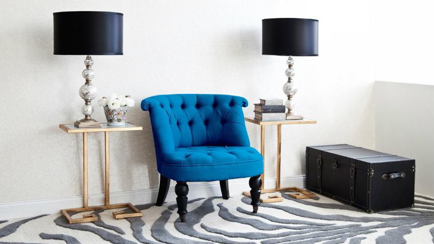 Shop je stijlvolle chesterfield stoel hier m t korting westwing - Lampe de chevet baroque noire ...