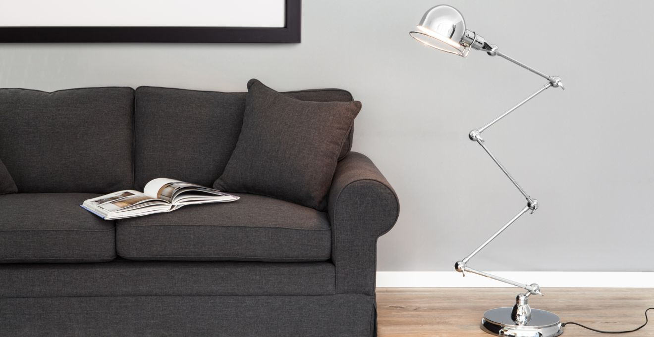 Woonkamer Lampen Modern : Rvs lampen tijdloos stralend modern licht westwing