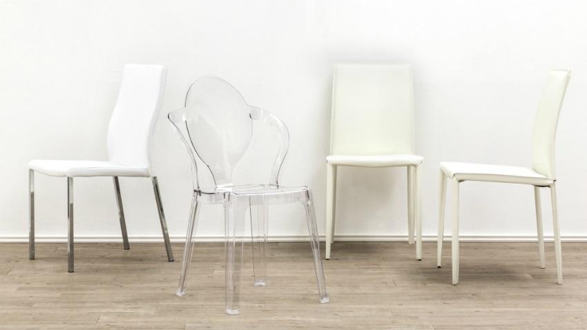 Lijk lekker te zweven op een transparante stoel westwing