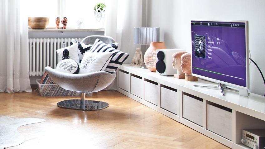 Hoogglans Wit Kast : Shop hier je tv meubel hoogglans wit mét korting westwing