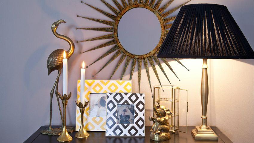 Gouden Accessoires Slaapkamer : Een gouden kandelaar glamour op de ouderwetse manier westwing