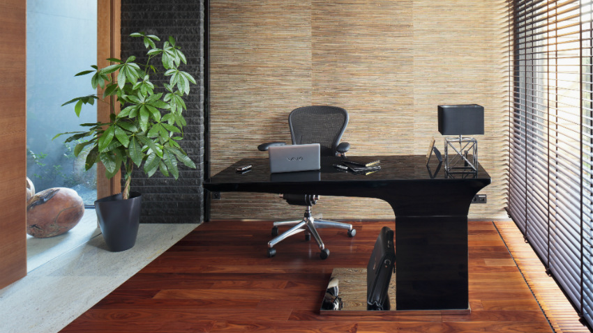 Design Bureau Hoogglans Wit.Shop Hier Je Zwevend Bureau Met Korting Westwing
