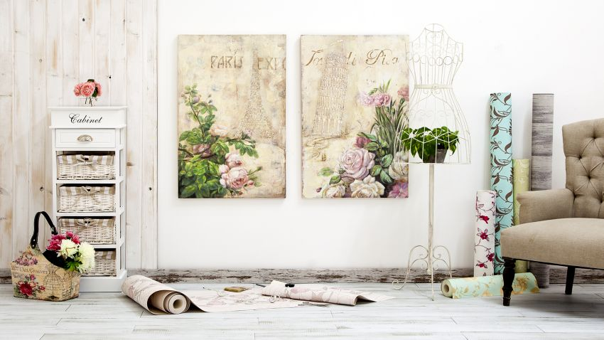 Shabby chic odkryj niezwyk y styl westwing for Quadri con fiori in rilievo