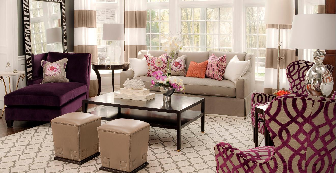 Urz d salon w stylu angielskim westwing - Cojines para sillones de terraza ...