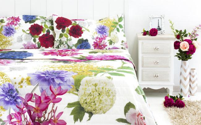 Wiosenne dekoracje do sypialni