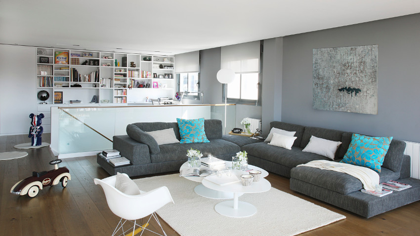 dywan bia y stylowy dodatek we wn trzu westwing. Black Bedroom Furniture Sets. Home Design Ideas
