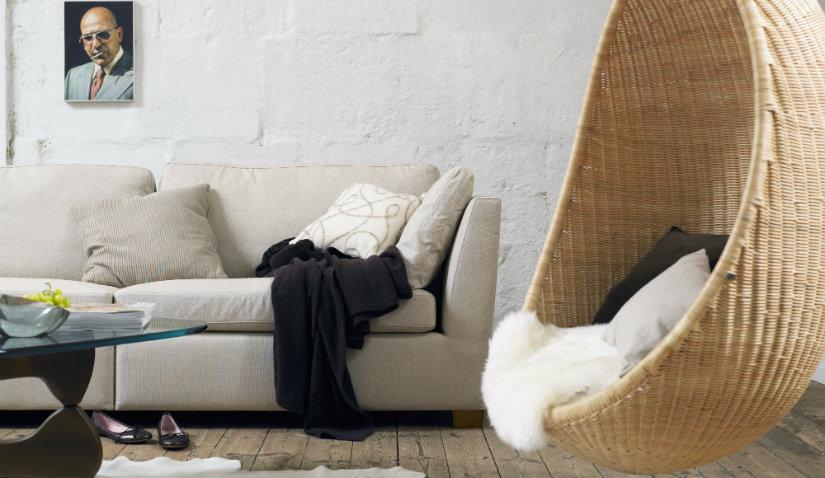 Fotel huśtawka