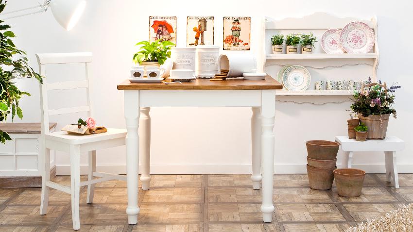 Stół rozkładany 90×90