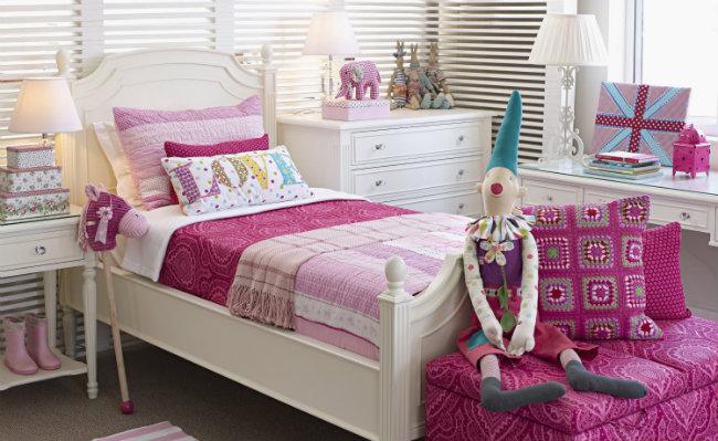 Mała sypialnia dla dzieci