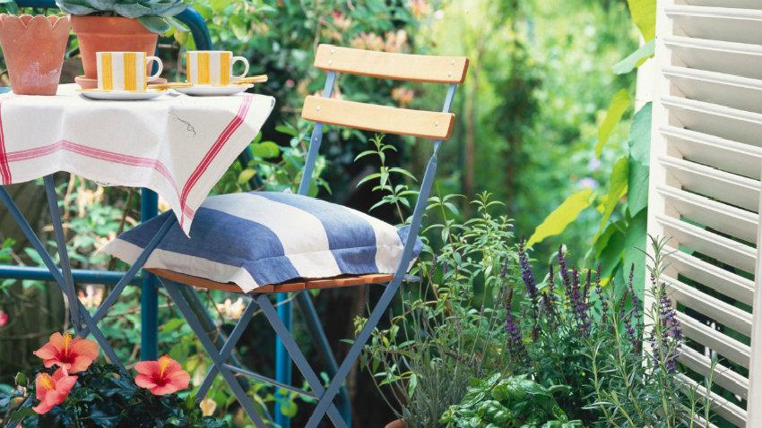 Ogród na balkonie, pomysły i inspiracje