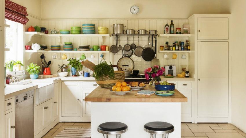 Jasne meble kuchenne — porady, zdjęcia, aranżacje