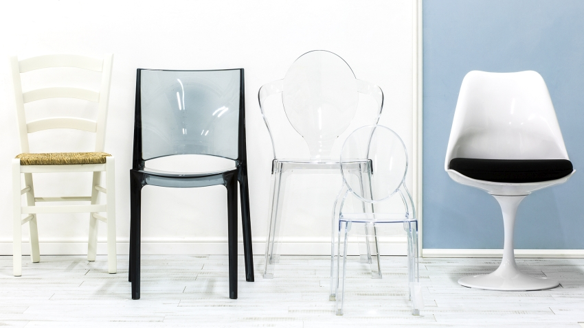 Krzesła gięte