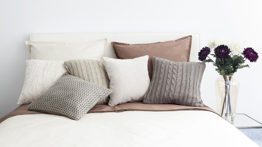 Poduszki z gryki