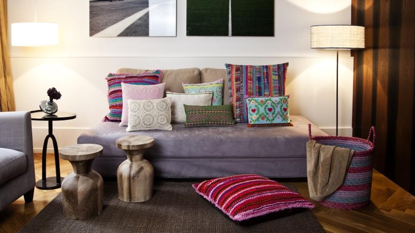 Poszewki na poduszki 40×40