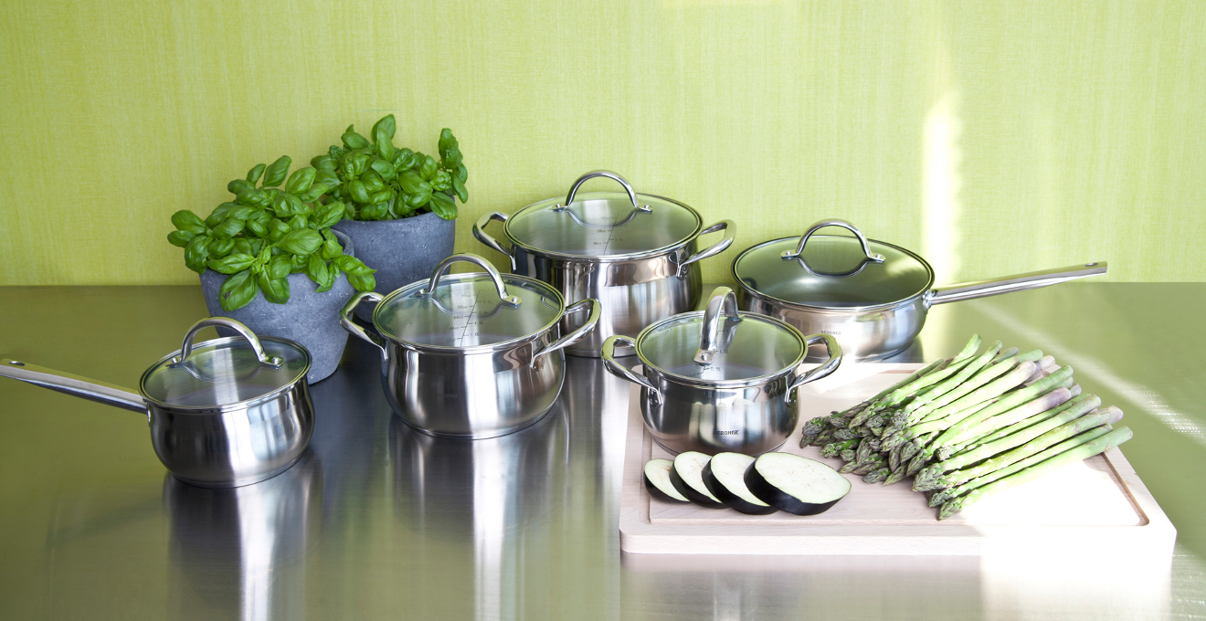 Zielone meble kuchenne