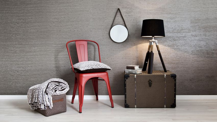 Czerwone krzesło