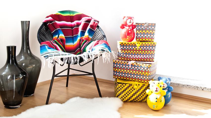 Krzesła ze sklejki