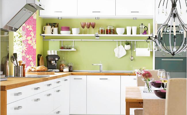 Kuchnia w stylu eko — pomysły, zdjęcia, inspiracje -> Kuchnia Drewniana Olcha