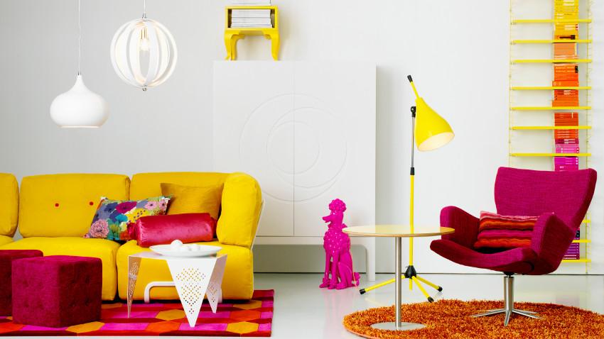 Fioletowe krzesła