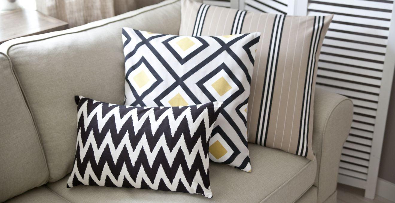 Poduszki bawełniane