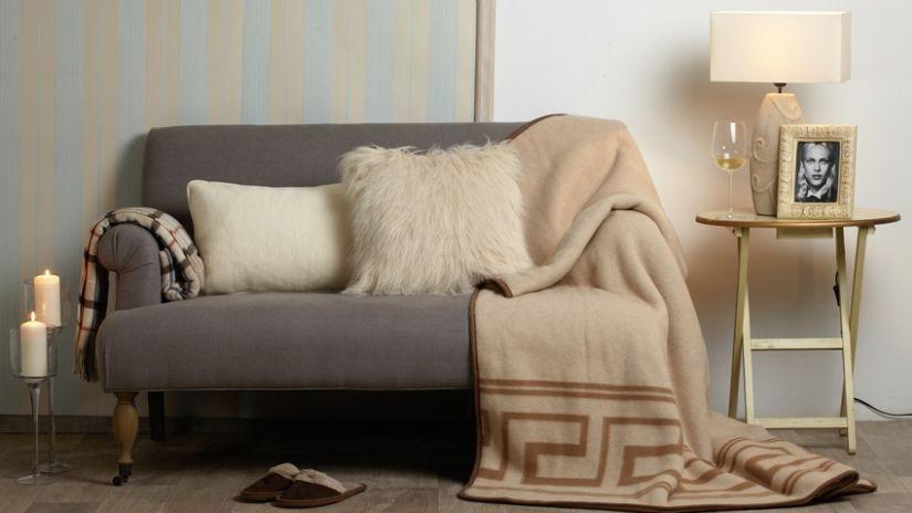 Klasická vlnená deka
