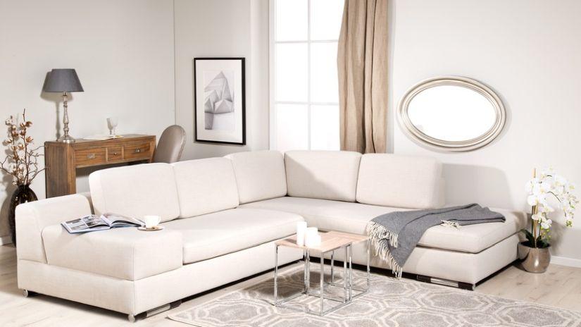 Moderný béžový nábytok