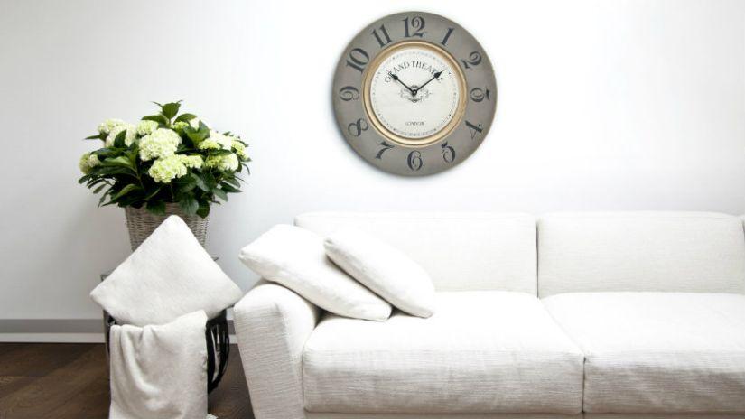 Veľké luxusné nástenné hodiny