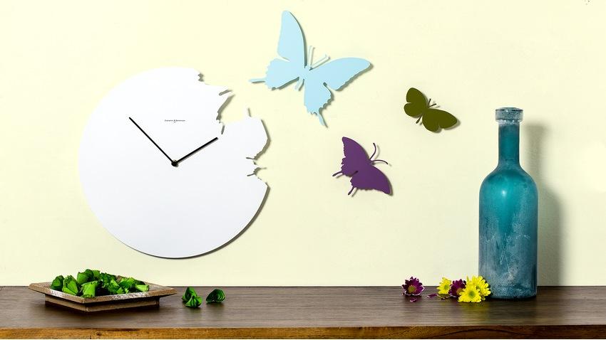 Veľké nástenné dizajnové hodiny