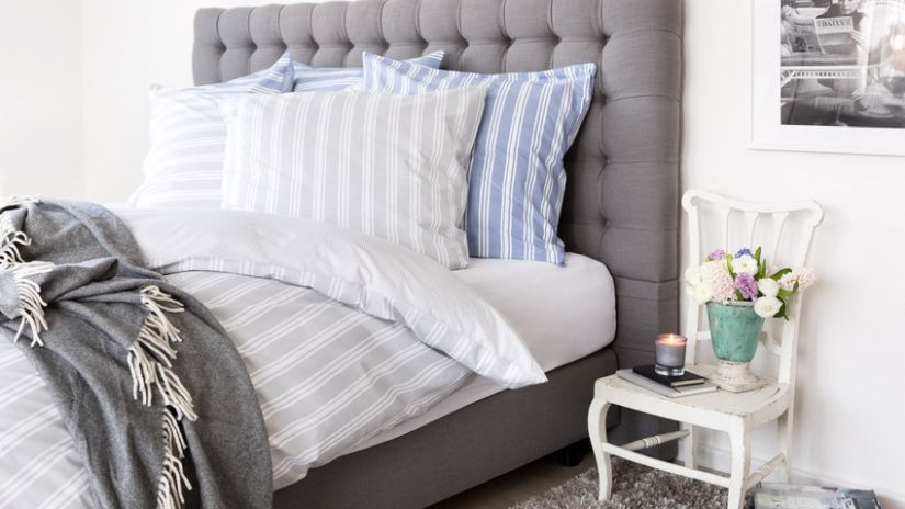 Pohodlná vysoká posteľ v americkom štýle