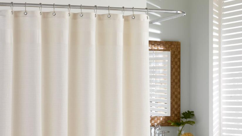 Kúpeľňové doplnky-sprchový záves