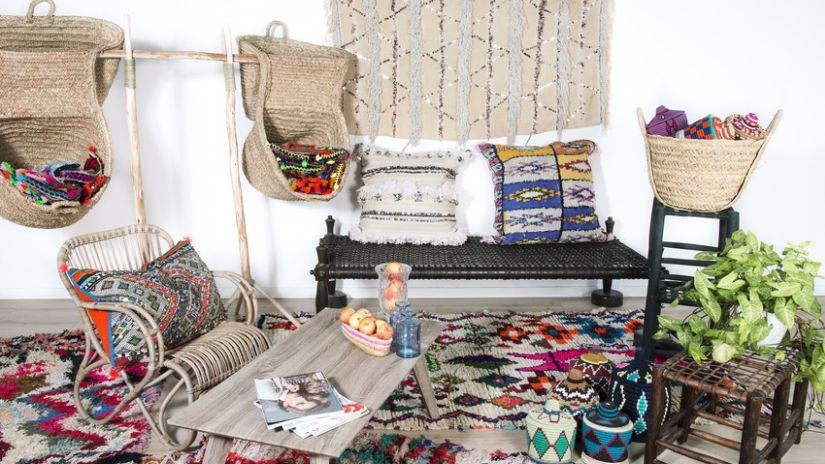 Trendy ratanový nábytok a stoličky