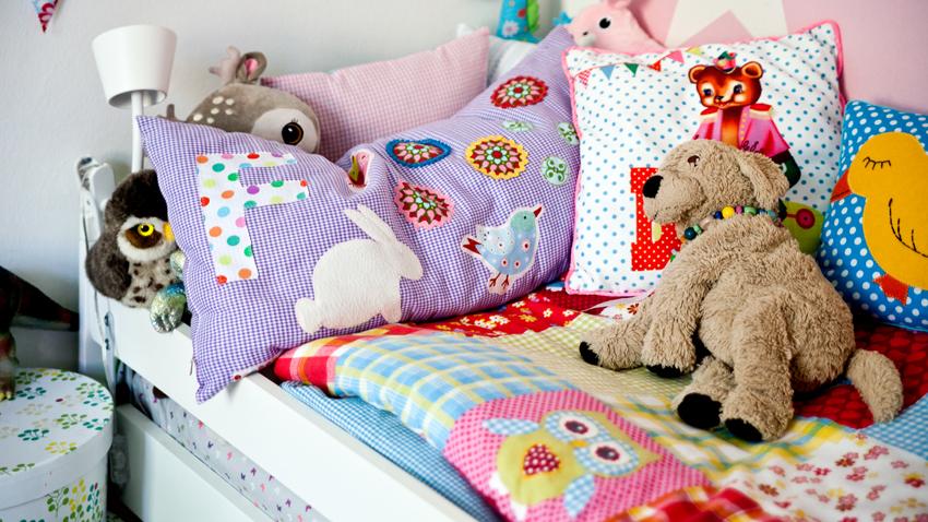 Biela posteľ pre deti