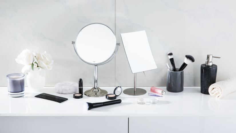 Stojace zrkadlá do kúpeľne