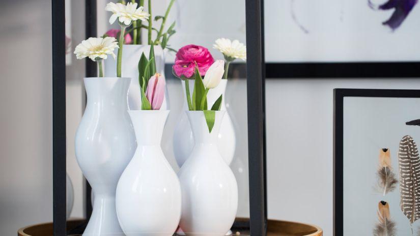 Dekoratívne vázy do interiéru