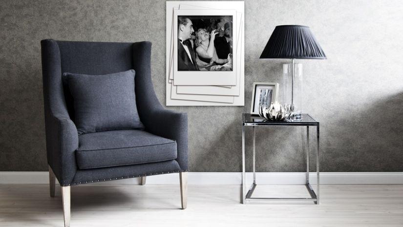 Elegantná sivá tapeta