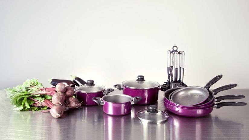 Štýlové fialové panvice