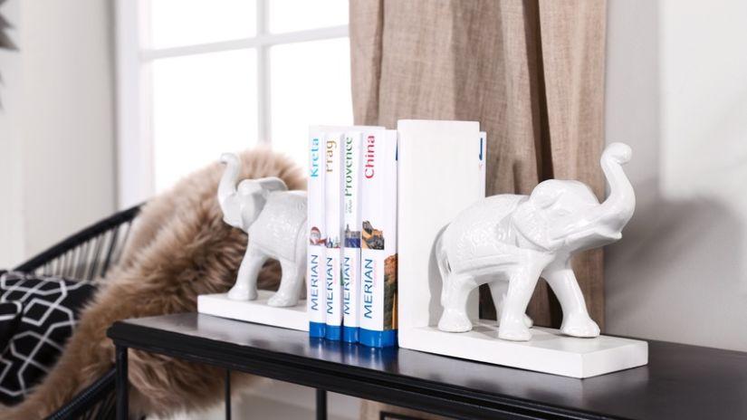 Dizajnová zarážka na knihy
