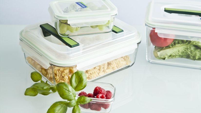 Praktické dózy na potraviny z plastu