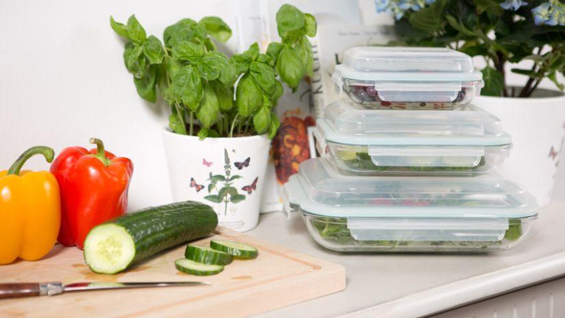 Kvalitné sklenené dózy na potraviny
