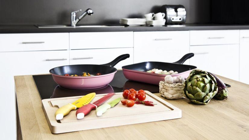 Trendy farebné kuchynské nože