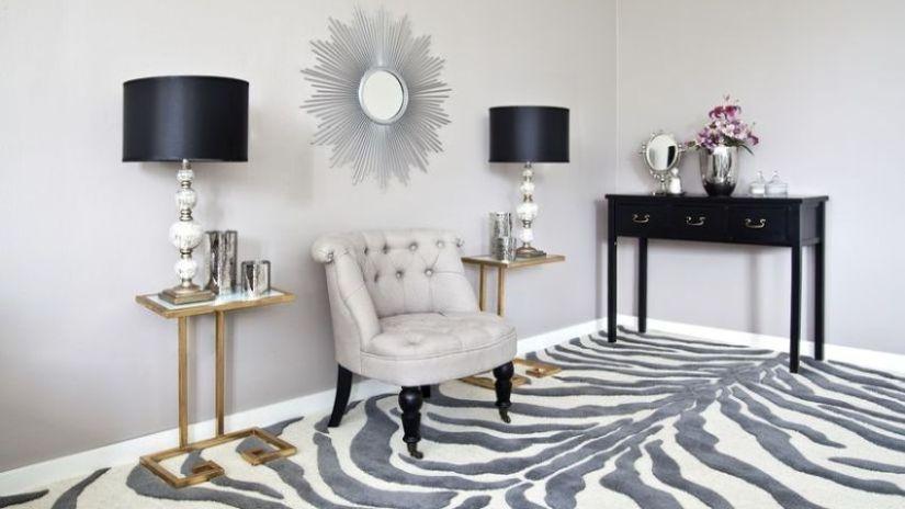 Sivý dizajnový nábytok do obývačky