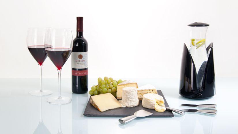Luxusné poháre na červené víno
