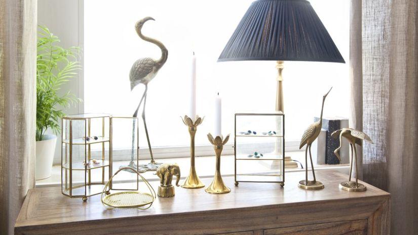 Moderné zlaté sošky