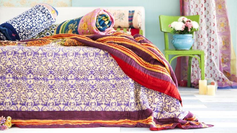 Bytový textil do spálne